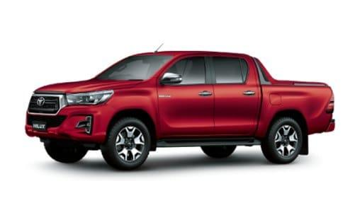 TOYOTA HILUX 2.4E 4X2 AT MLM DONG THAP